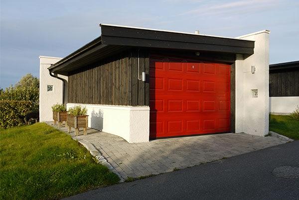 Fire nye garasjer