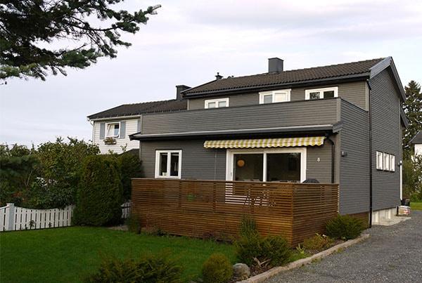 Tilbygg og ombygging av bolig